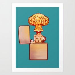 Set the World on Fire Kunstdrucke