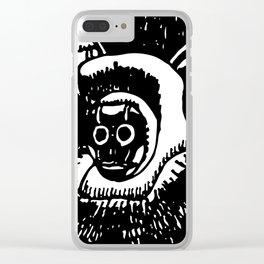 LOS SPARTAS II Clear iPhone Case