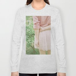 Peach Long Sleeve T-shirt