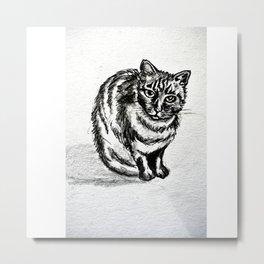 lolita cat Metal Print