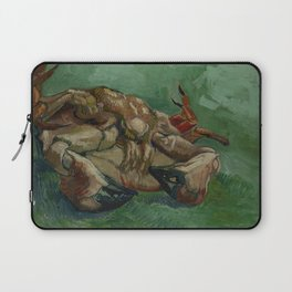 Crab on its Back Laptop Sleeve