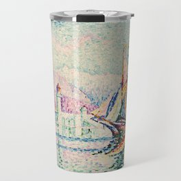 "Paul Signac ""Antibes - Morning"" Travel Mug"
