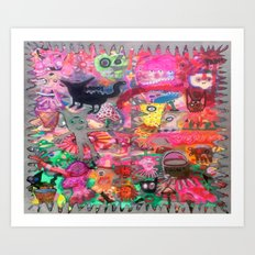 HYPER Art Print