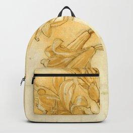 "Andrea del Verrocchio ""A lily"" Backpack"