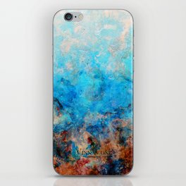 Pacific Aether - Original Abstract Art iPhone Skin