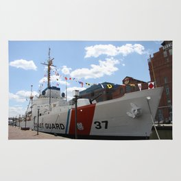 Coast Guard 37 Baltimore Harbor Rug