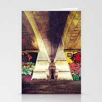 graffiti Stationery Cards featuring 'GRAFFITI' by Dwayne Brown