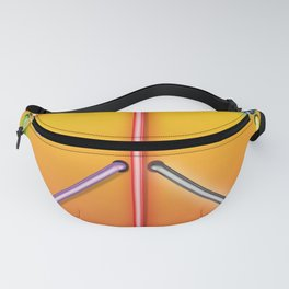 PEACE Sign Neon Fanny Pack