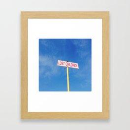 Lost children Framed Art Print