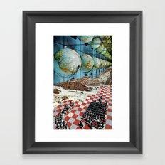 The Shining... Framed Art Print