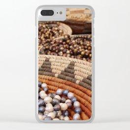 Santa Fe Beads Clear iPhone Case