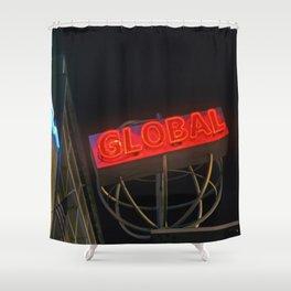 Globalization Shower Curtain