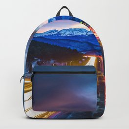 The evening commute Backpack