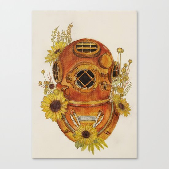 To Sink Canvas Print