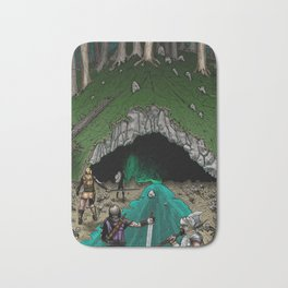 Party Approaching Cave Bath Mat