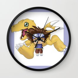 Chibi Tai Wall Clock