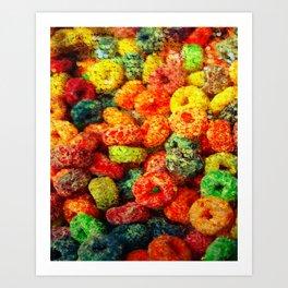 Yummeh Shiny Crunch Art Print