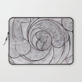Downward Spiral Laptop Sleeve