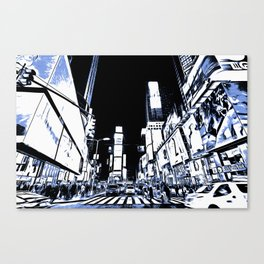 Times Square Art Canvas Print