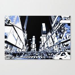 Times Square Art Canvas Print