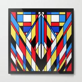 The Color Cubes - 3A Metal Print