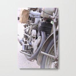 Old motorbike Metal Print
