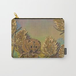 Harvest Mouse and Teasels Carry-All Pouch