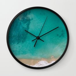 Beach and Sea Wall Clock