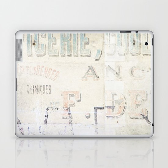 the writing on the wall ...  Laptop & iPad Skin