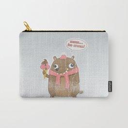Icecream Bear Carry-All Pouch