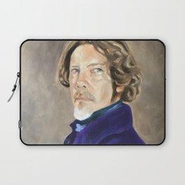Self Portrait as Delacroix Laptop Sleeve