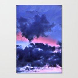 Clouds - Twilight Summer #1 #sunset #decor #art #society6 Canvas Print