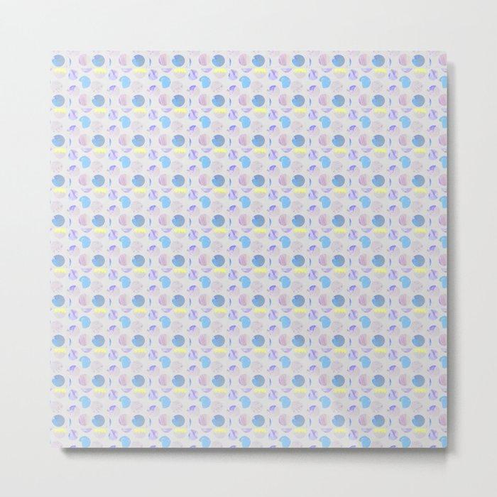 Dots Pattern - JUSTART © Metal Print