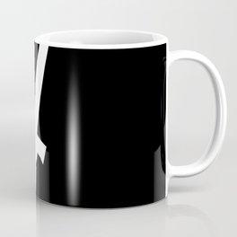 Dark Souls - Stright Sword Hilt Silhouette Coffee Mug