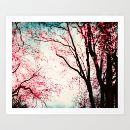 When the Trees Whispers Art Print