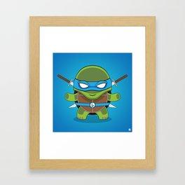 Leonardo Framed Art Print