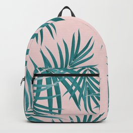 Palm Leaves Pattern Summer Vibes #1 #tropical #decor #art #society6 Backpack