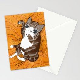 Reclining Kitten Stationery Cards
