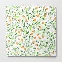 Floral doodles green and orange by katerinamitkova