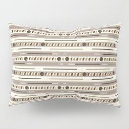 Chocolate Cookie Sticks Horizontal Pillow Sham
