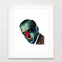 horror Framed Art Prints featuring horror by Alvaro Tapia Hidalgo