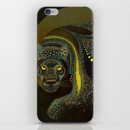 Dark Jaguar iPhone Skin
