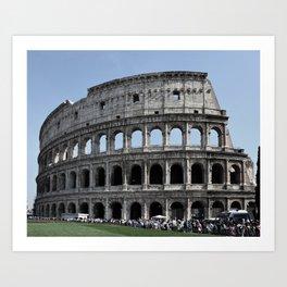 Colosseo 2 Art Print
