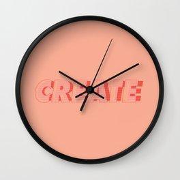 Make and Create Wall Clock