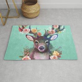 Deer of Spring Rug