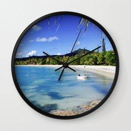 Isle of Pines Wall Clock