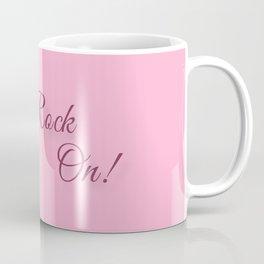 Rock On! Engagement Announcement Coffee Mug