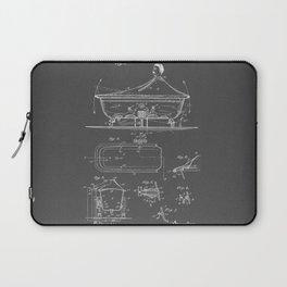 Rocking Oscillating Bathtub Patent Engineering Drawing Laptop Sleeve