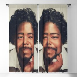 Barry White, Music Legend Blackout Curtain