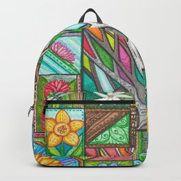 Stitched Tree of Glass Backpack